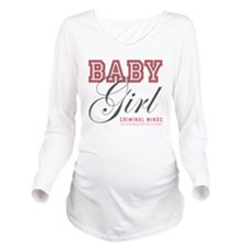 BABY GIRL Long Sleeve Maternity T-Shirt