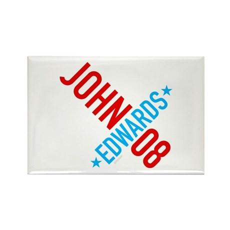John Edwards 08 Rectangle Magnet (10 pack)