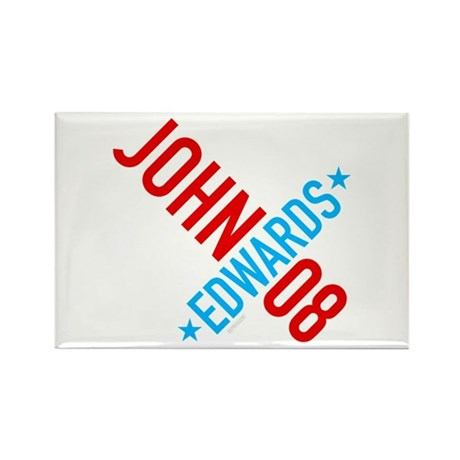 John Edwards 08 Rectangle Magnet