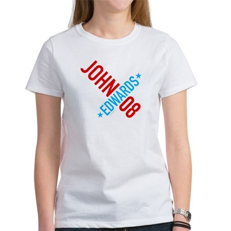 John Edwards 08 Womens T-Shirt