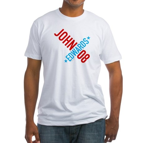 John Edwards 08 Fitted T-Shirt