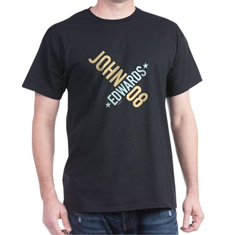 John Edwards 08 Black T-Shirt