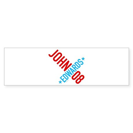 John Edwards 08 Bumper Sticker