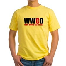 What Would Castle Do? Yellow T-Shirt