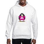 Hot Momma Penguin Hooded Sweatshirt