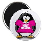Hot Momma Penguin Magnet