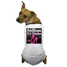 AWESOME 21ST Dog T-Shirt