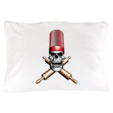 Chef Skull Pillow Case