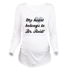 MY HEART... Long Sleeve Maternity T-Shirt