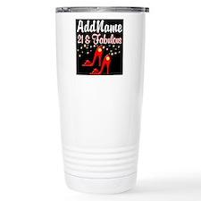 AWESOME 21ST Travel Mug