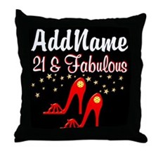 AWESOME 21ST Throw Pillow