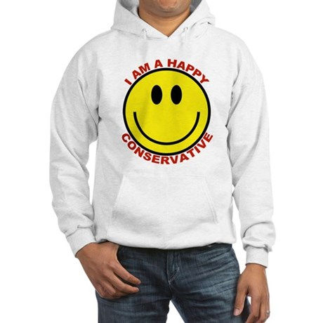 Happy Conservative Hooded Sweatshirt