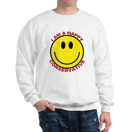 Happy Conservative Sweatshirt
