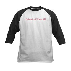 Fairest of Them All Kids Baseball Jersey