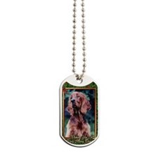 Irish Setter Dog Christmas Dog Tags