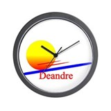 Deandre Wall Clock