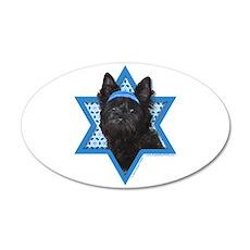 Hanukkah Star of David - Cairn 35x21 Oval Wall Dec