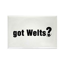 Got Paintball Welts Rectangle Magnet