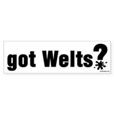 Got Paintball Welts Bumper Bumper Sticker