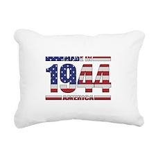 1944 Made In America Rectangular Canvas Pillow