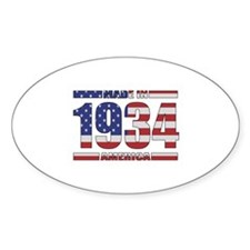 1934 Made In America Decal