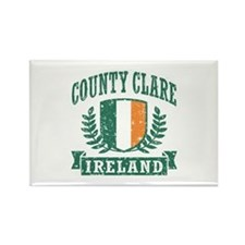 County Clare Ireland Rectangle Magnet