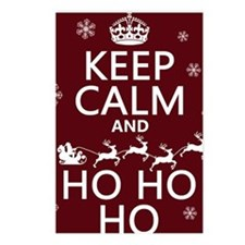 Keep Calm and Ho Ho Ho (c Postcards (Package of 8)