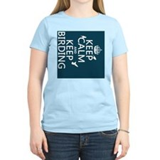 Keep Calm and Keep Birding T-Shirt