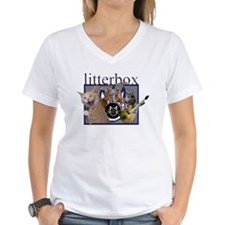 litterbox cat rock Shirt