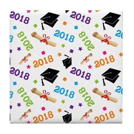 Class Of 2018 Gift Tile Coaster