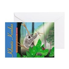 "6 ""Koala and the Song of Sunlight"" Greeting Cards"