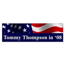 Tommy 08 Bumper Bumper Sticker