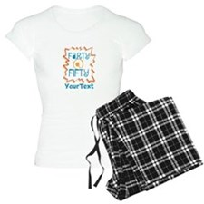 Personalized Farty at Fifty Pajamas