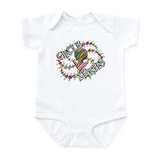Alien Circle Makers Tye Dye Infant Bodysuit