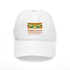 Threefoot Preservation Society Motif Baseball Baseball Cap