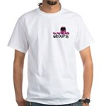 Pink Mafia Groupie White T-Shirt