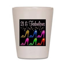 AWESOME 21ST Shot Glass