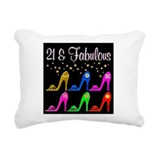 AWESOME 21ST Rectangular Canvas Pillow