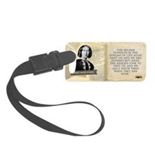 Mary Anne Evans Historical Mug Luggage Tag