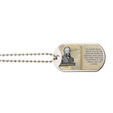 Herman Melville Historical Mug Dog Tags