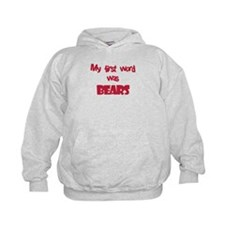 First Word Bears (red) Hoodie