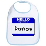 hello my name is darion  Bib