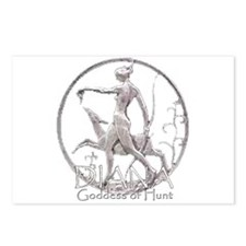 Diana: Goddess of the hunt Postcards (Package of 8