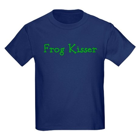 Frog Kisser Kids Dark T-Shirt