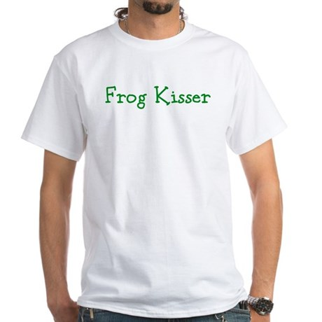Frog Kisser White T-Shirt