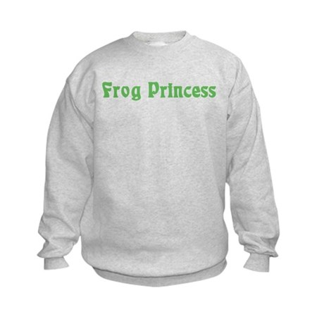 Frog Princess Kids Sweatshirt