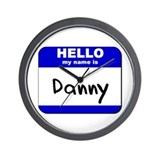 hello my name is danny  Wall Clock