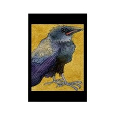 Unique Crow Rectangle Magnet