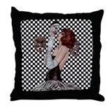 Carnevale Lovers Throw Pillow