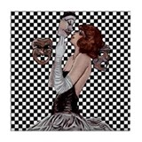 Carnevale Lovers Tile Coaster